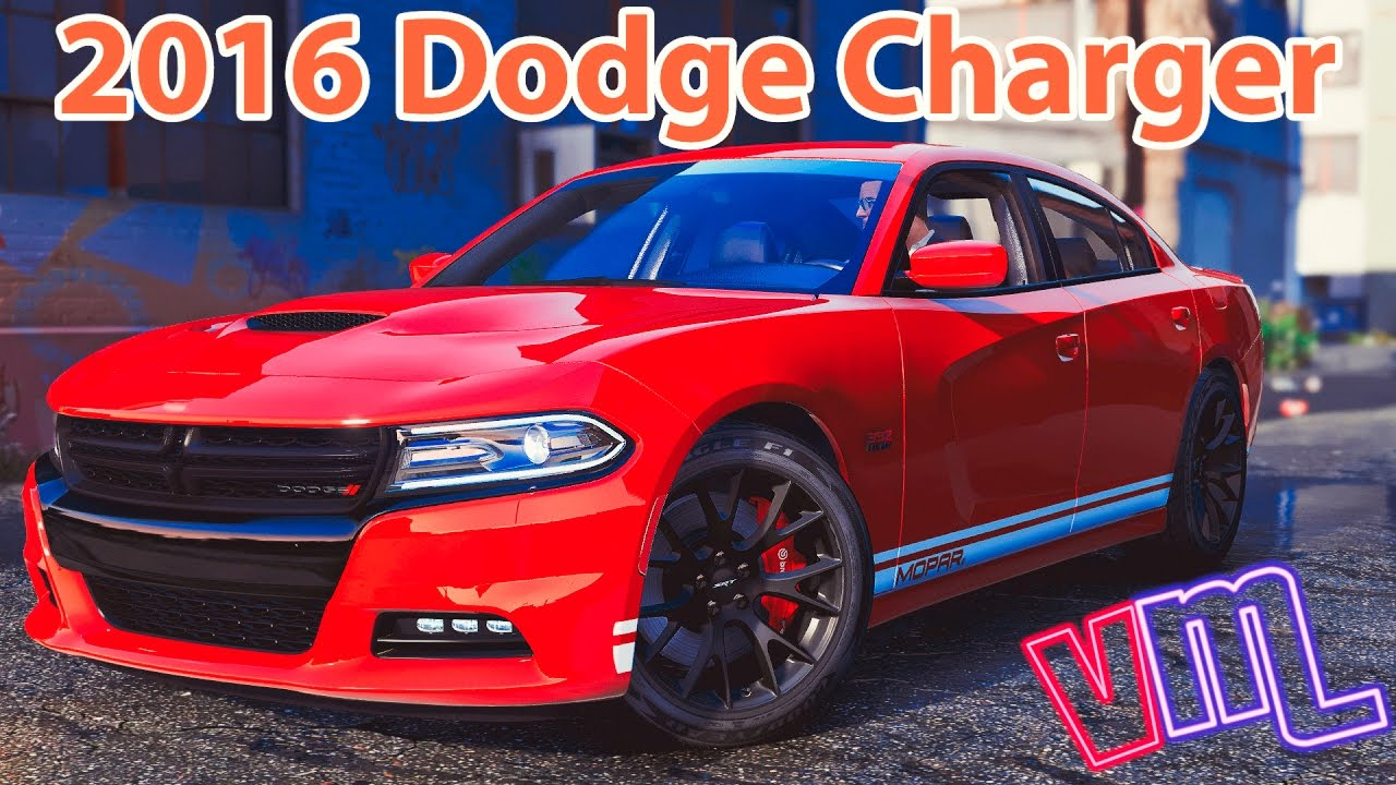 gta 5 2016 dodge charger sxt r t srt 392 hellcat youtube. Black Bedroom Furniture Sets. Home Design Ideas
