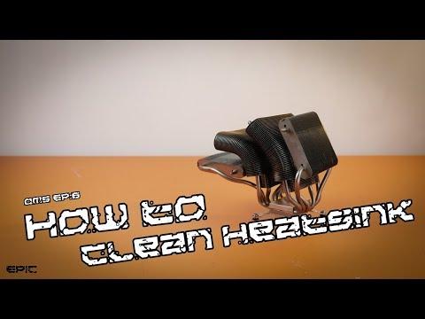 OMS EP:6 How to clean heatsink