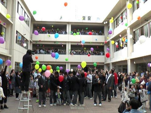 阿蘇中学校感謝祭 - YouTube