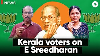 Can E Sreedharan help BJP's prospects in Kerala? What Voters Have to Say?