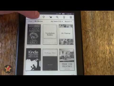 Amazon Kindle Paperwhite (2013 model) Review