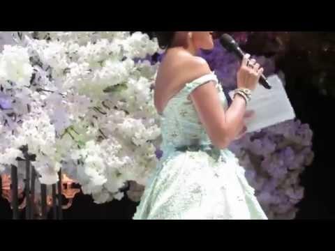 BAZAAR BRIDAL WEEK - MONICA IVENA