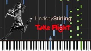 Lindsey Stirling - Take Flight [Synthesia Tutorial]