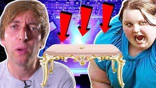 Dicke Sängerin knallt vom Tisch - Torgshow#84