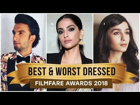 Sonam Kapoor, Alia Bhatt, Parineeti Chopra: Best and Worst Dressed of Filmfare Awards 2018