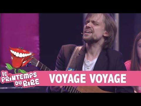 parodie chanson voyage voyage