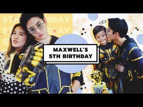 Maxwell 5 ขวบเเล้วจ้า!วันเกิดหลานเซอร์ไพรส์ Bumble Bee | Yingpcp Ft. Golf&Mike