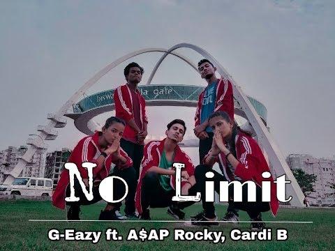 No Limit - G Eazy ft ASAP Rocky & Cardi B Dance Choreography   Bhawanipur Dance Crew X Red Bull