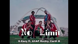No Limit - G Eazy ft ASAP Rocky & Cardi B Dance Choreography | Bhawanipur Dance Crew X Red Bull