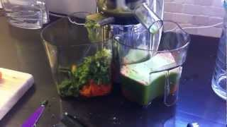Hurom Juicer Vegetable And Fruit Juice Fast First Juice