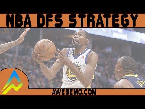 DraftKings & FanDuel NBA DFS Strategy - Tue 10/16 - Awesemo.com