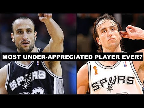 Why Manu Ginobili Is The Most Under-Appreciated Player In NBA History