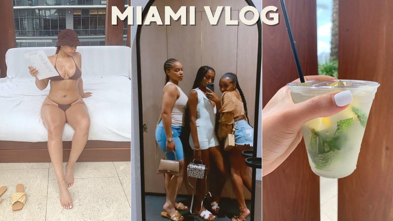 MIAMI VLOG   Girls Trip, Luxury Hotel, Good Food, etc. (much needed vacay)