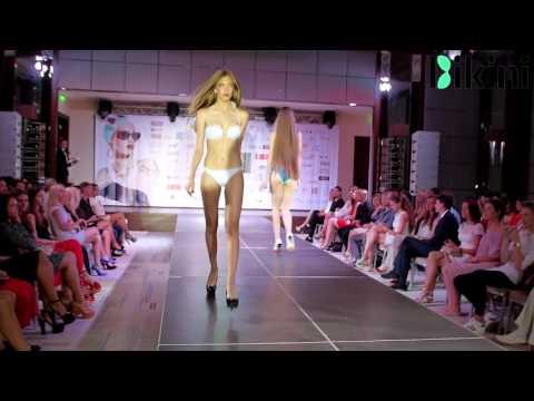 Показ купальников от магазина Bikini на ГЛЯНЕZZ FASHION SHOW 2016