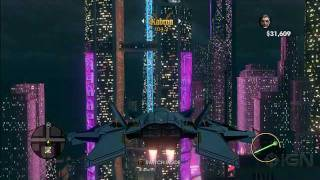 Saints Row The Third  Fighter Jet Gameplay