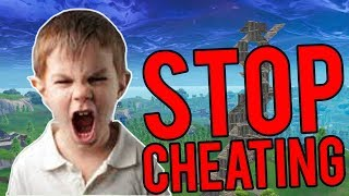 Trolling Angry Kids as the Best Sniper in Fortnite Playground (He Called Aimbot)