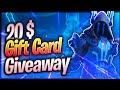 20$ Giftcard Giveaway