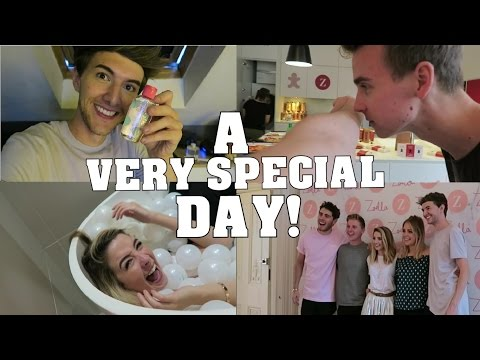 A Very Special Day - Zoella\'s Apartment || Mark Ferris