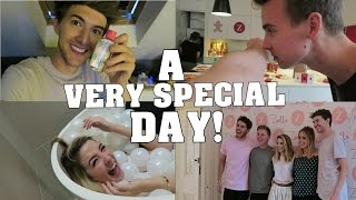 A Very Special Day - Zoella's Apartment || Mark Ferris