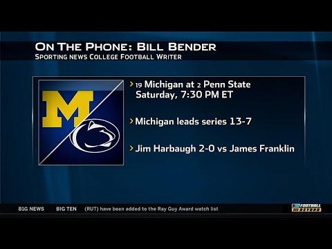 Bill Bender Talks Michigan vs. Penn State