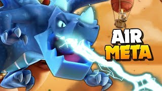 The STRONGEST Attacks are AIR in Clash of Clans!! TH11 Attack Strategy for 3 Stars!