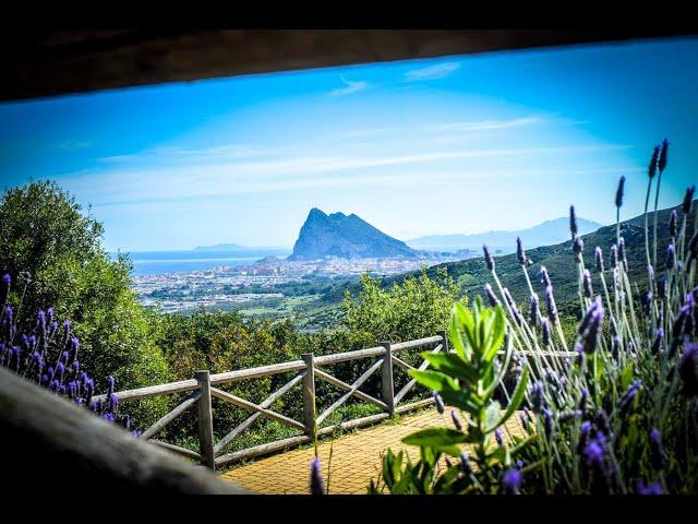 Increible Vistas a Gibraltar desde Mirador del Higuerón