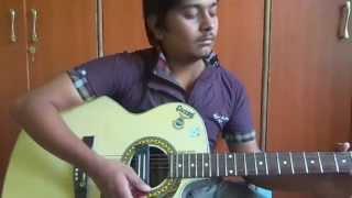 kammani ne prema lekhale guitar cover by vishnu
