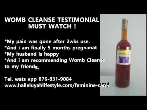 The Natural Alternative (Womb Cleanse Testimony #1)