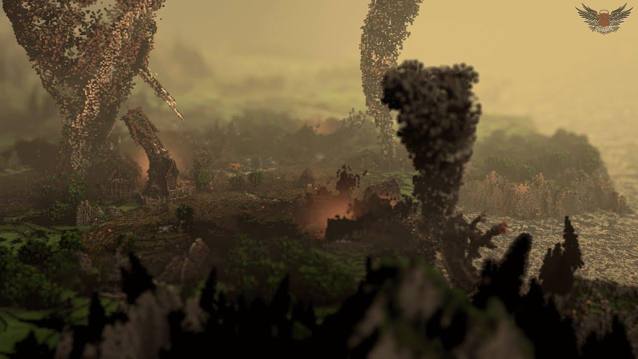 Tornado – Minecraft Timelapse by ElysiumFire