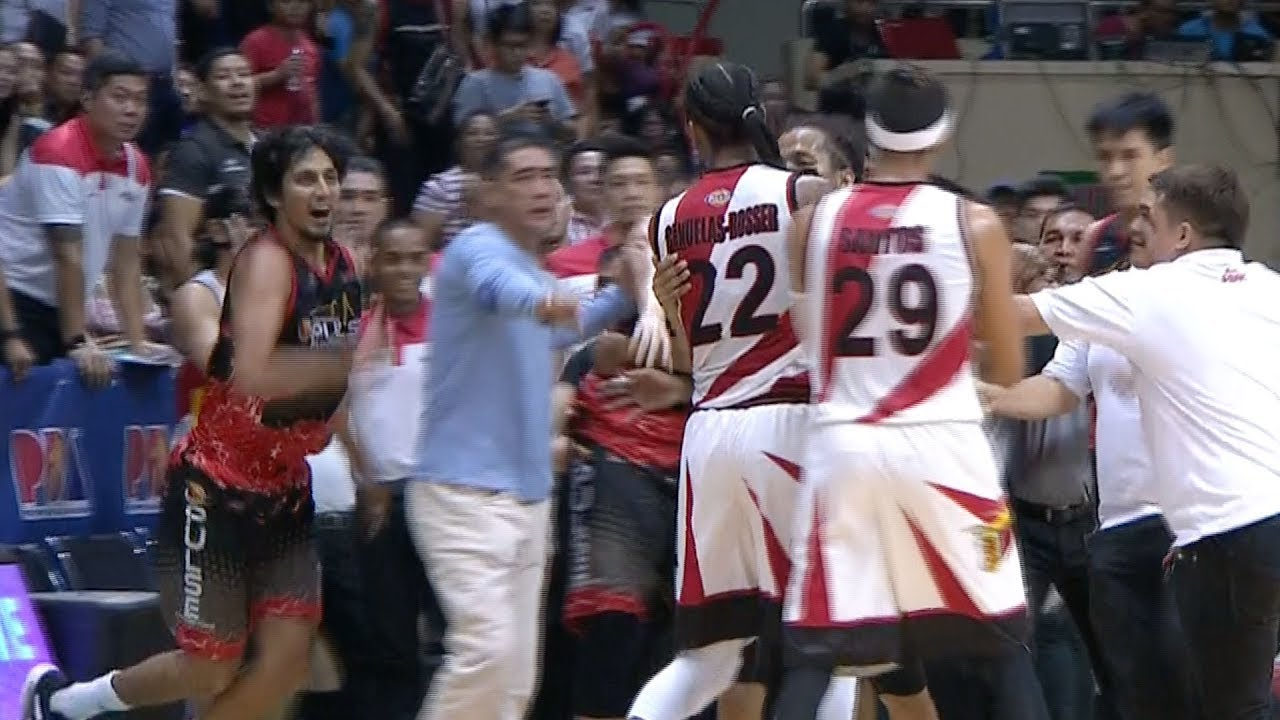 SMB-Phoenix altercation | PBA Philippine Cup 2019 Semifinals