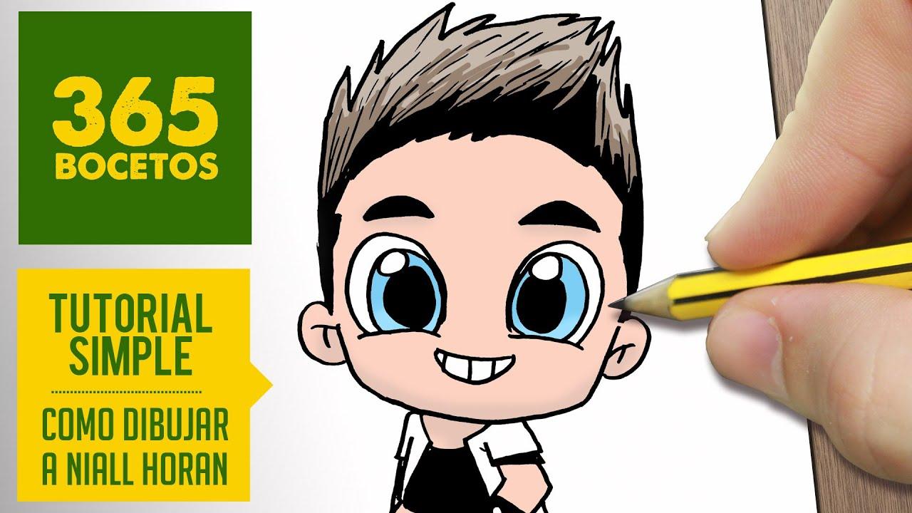 Como Dibujar A Niall Horan De One Direction Dibujos