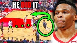 How Russell Westbrook CHANGED The Rockets In The NBA (Ft. James Harden, Energy, & Speed))