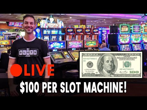 🔴 LIVE $100 Per 🎰 Slot Machine At San Manuel Casino With Quick Hit Giveaway #AD