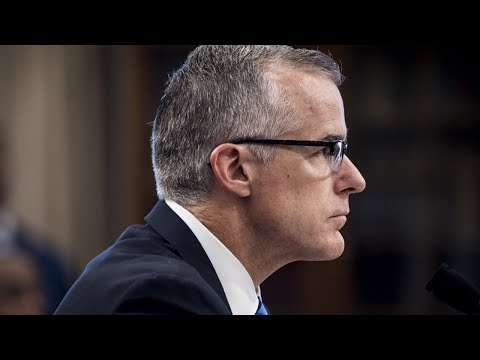 Andrew McCabe speaks out after firing