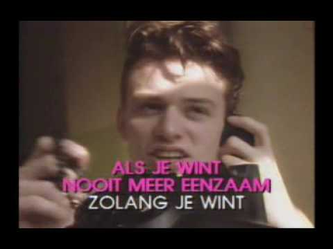 als je wint, hennie vrienten, dutch video karaoke