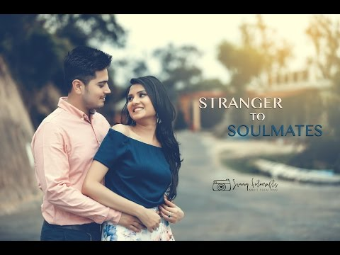 STRANGER to SOULMATES | NEW PRE WEDDING CONCEPT SHOOT | must watch till the end..