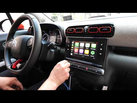 Prise En Main De L'interface Connectée De La Citroën C3 Aircross