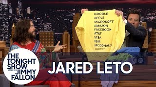 Jared Leto Brings Jimmy Soft and Cuddly Thirty Seconds to Mars