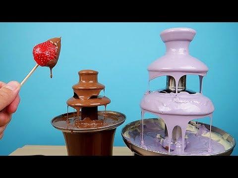 Как называется шоколадный фонтан
