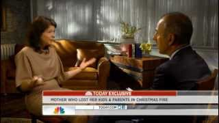 Today Show Matt Lauer Interview with Madonna Badger 6-22-12