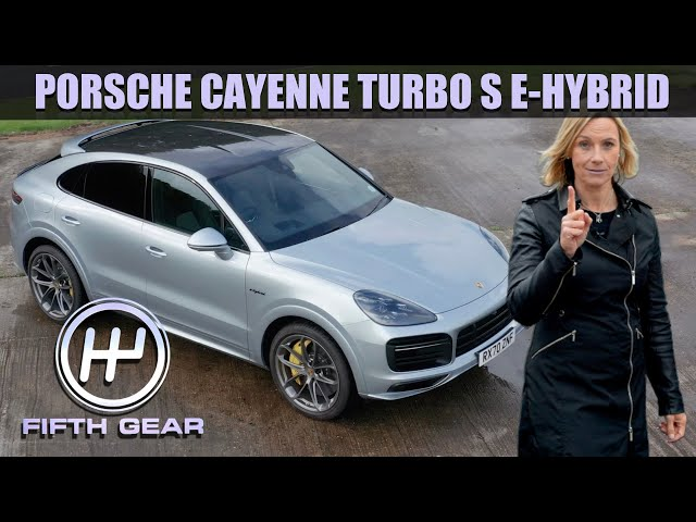 Porsche Cayenne Turbo S E-Hybrid Coupe Walkaround   Fifth Gear