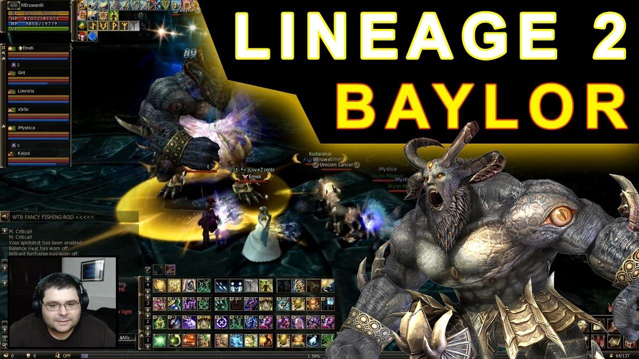 Lineage 2 - Baylor instance (Server Core europeu) Gameplay Aeore Healer  (PT-BR)