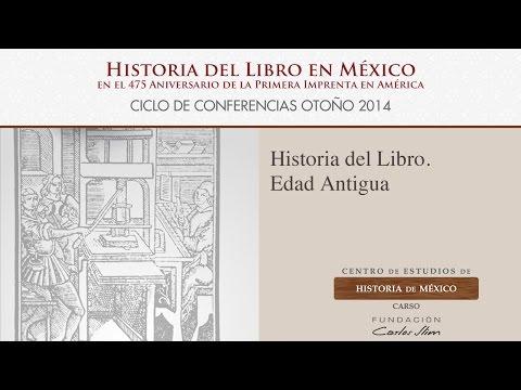 Historia del Libro. Edad Antigua