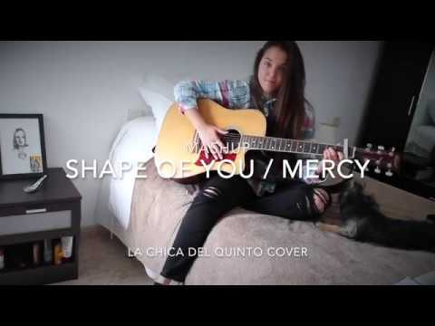 Shape of you by Ed Sheeran and Mercy by Shawn Mendes...