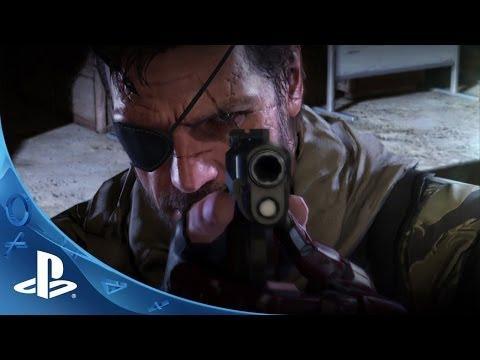 Metal Gear Solid V: The Phantom Pain | E3 2014 | PS4 & PS3