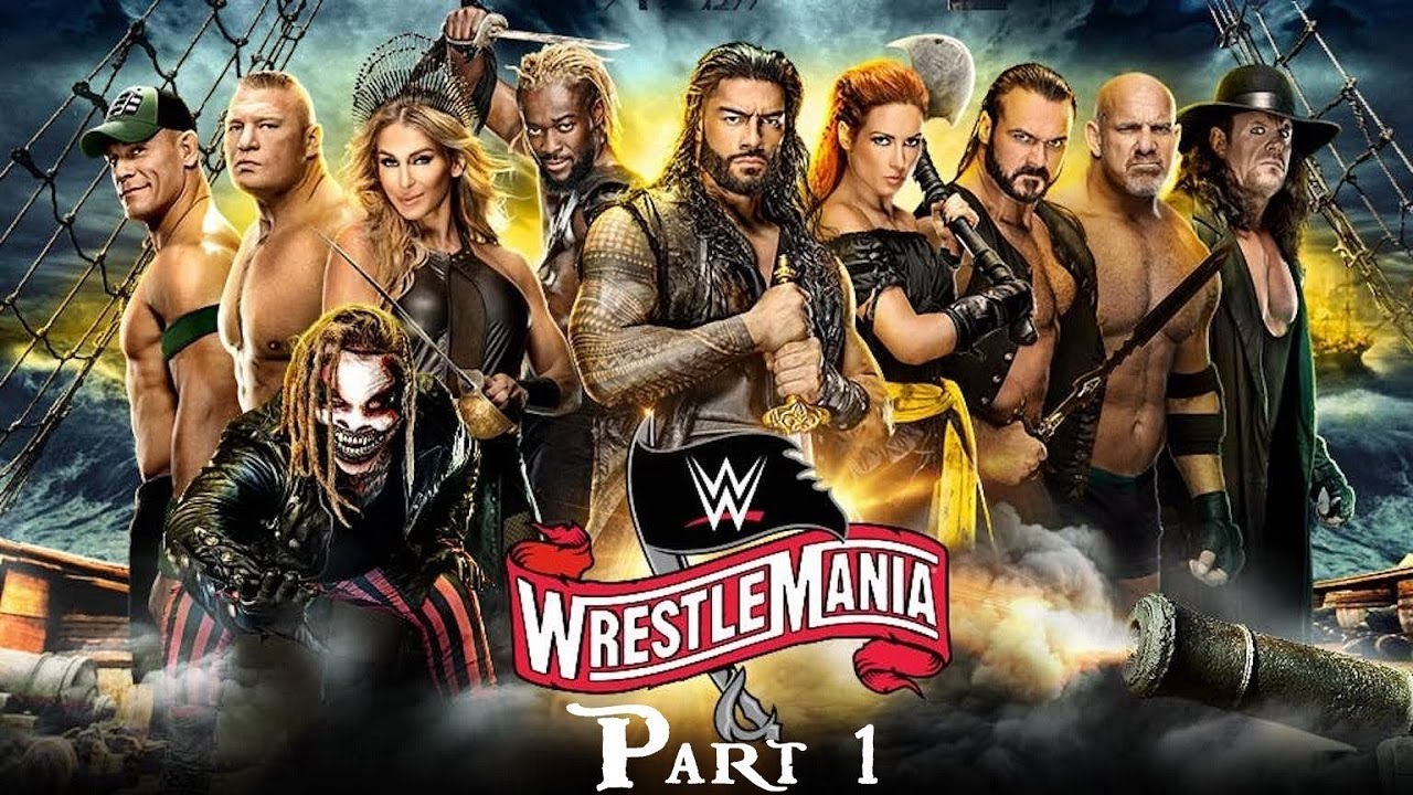 WWE WrestleMania 36 Night One Results - Boneyard Main Event, New ...