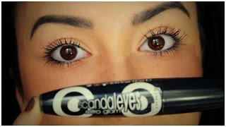 Rimmel London Scandaleyes Retro Glam Mascara - Review & Demo
