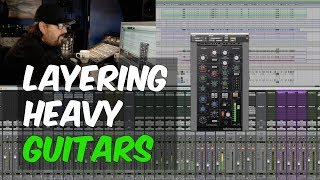 How To Layer Heavy Guitars in a Rock Song with Bob Marlette - Warren Huart: Produce Like A Pro