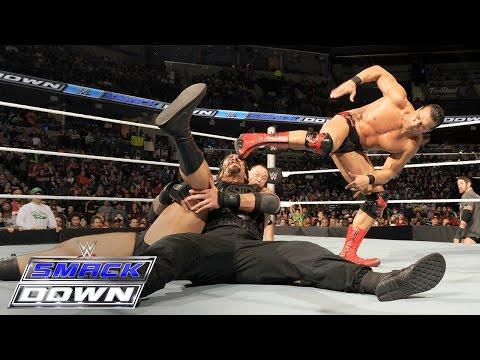 Roman Reigns & Dean Ambrose vs. Alberto Del Rio & Rusev: SmackDown, Feb. 4, 2016