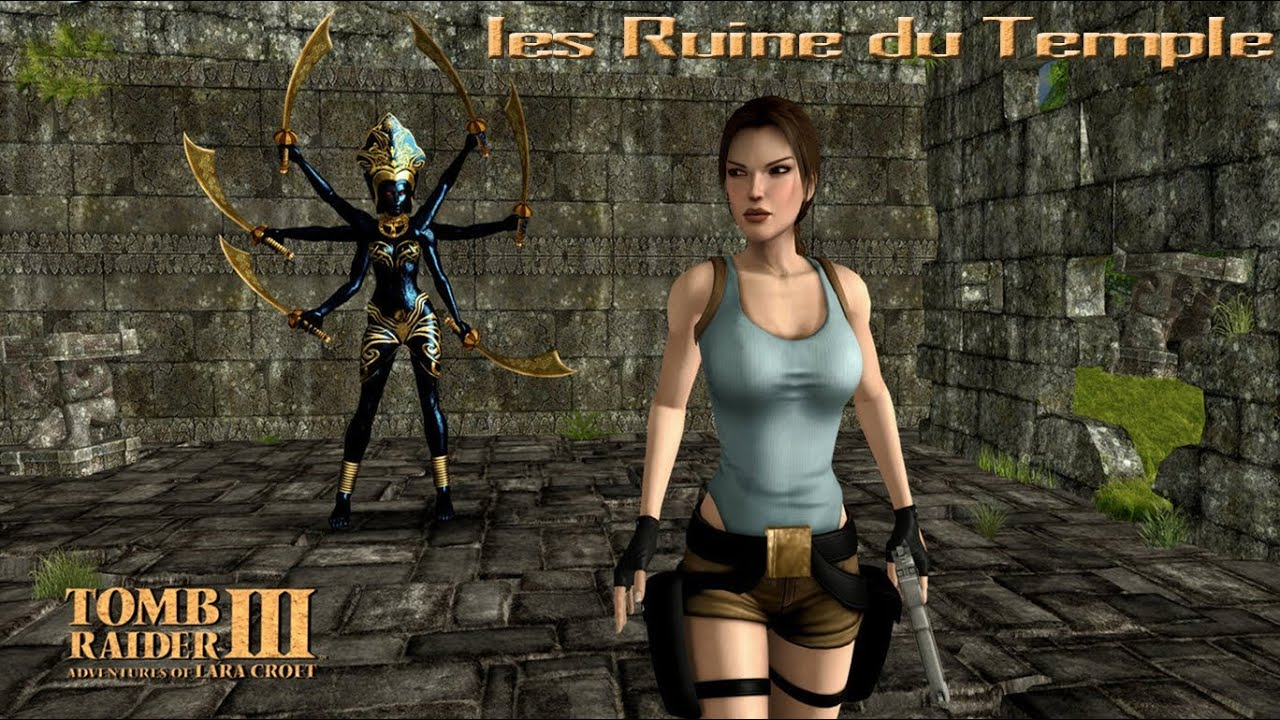 walkthrough tomb raider iii les ruine du temple youtube. Black Bedroom Furniture Sets. Home Design Ideas